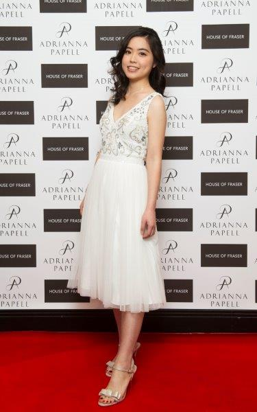 Super ADRIANNA PAPELL HITS THE RED CARPET @ HOUSE OF FRASER - Stephanie  GK34
